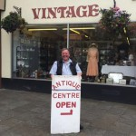 Winner of Category 1 for shops: Vintage Antiques, Market Place