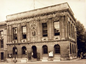Photo of the Court House taken in 1950