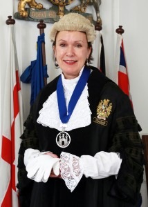 Town Clerk Jayne Topham