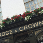 Winner of Category 3 for Hotel, Public Houses, Guest Houses, Restaurants: The Rose and Crown